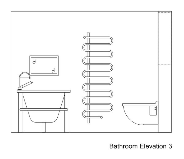 Bathroom Drawings 187 Kent Griffiths Design