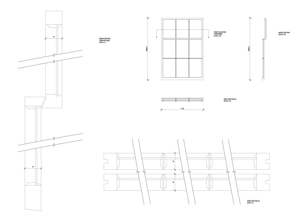joinery detail drawings  u00bb kent griffiths design